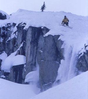Tiak use in downhill tree runs - Altai Skis - Midland, Ontario